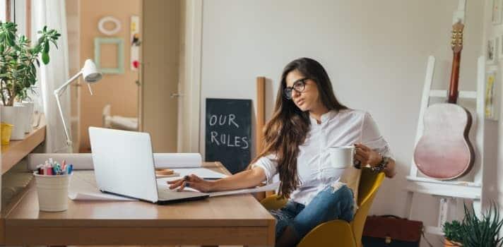 trabajar desde casa en marketing digital