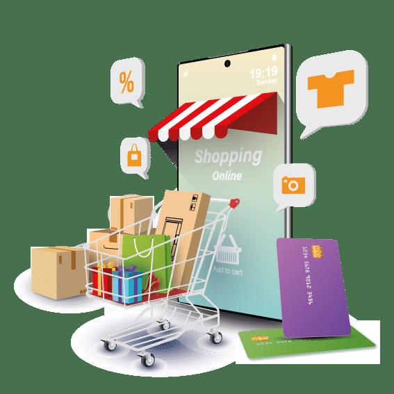 diseño de tienda ecommerce online, tiendas virtuales