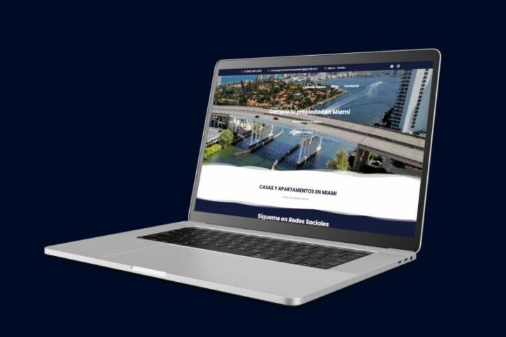 diseño de pagina web wordpress para inmobiliarias