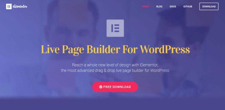 ventajas de elementor fácil de editar para tu sitio web
