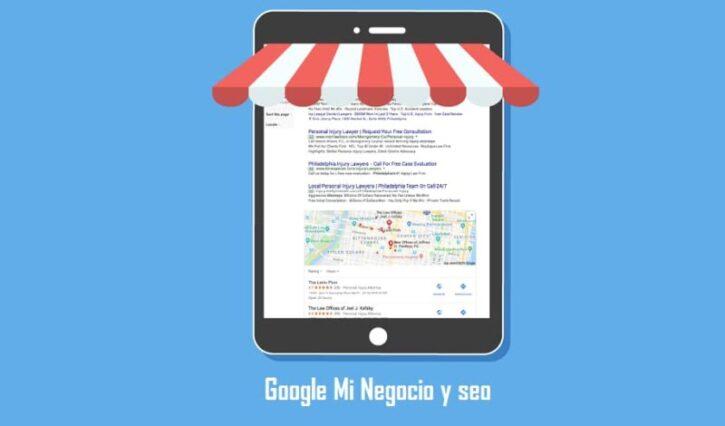 google mi negocio y seo