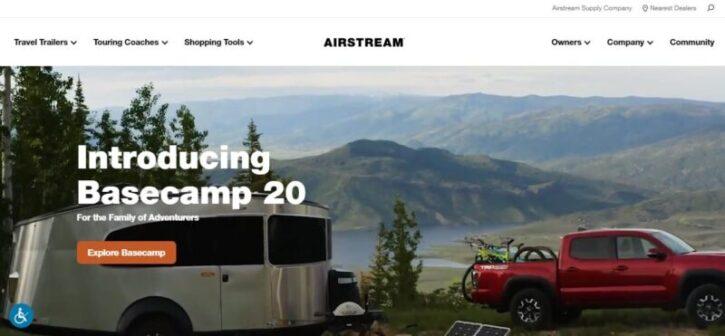diseño sitio web de marca aistream en wordpress