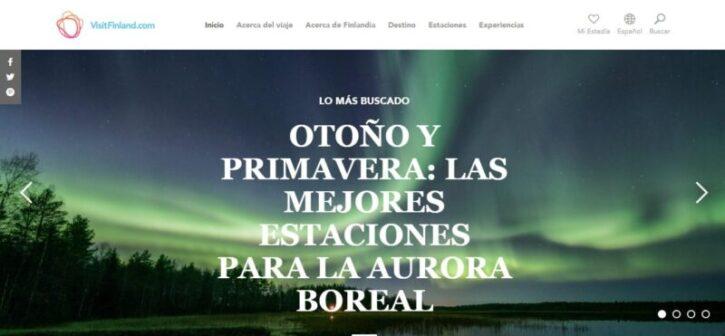 diseño de sitio web de firlandia en wordpress