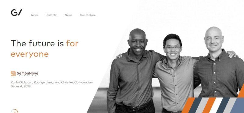 diseño de sitio web global venture en wordpress