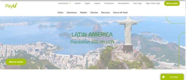 pasarela ecommerce payu usada en tiendas virtuales en latinoamerica