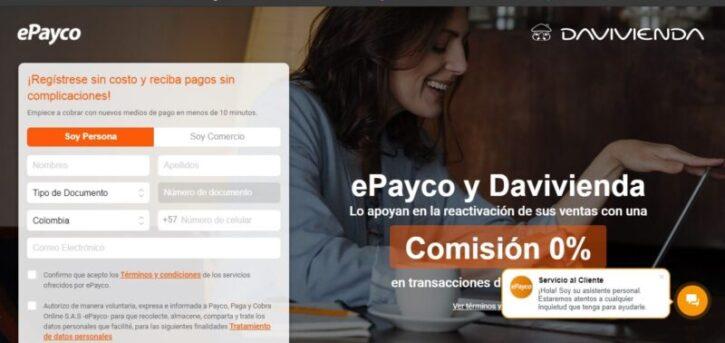 pasarela de pago ecommerce epayco usada en tiendas online