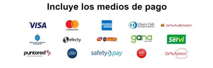 medios de pago epayco o pasarela usada en tiendas virtuales