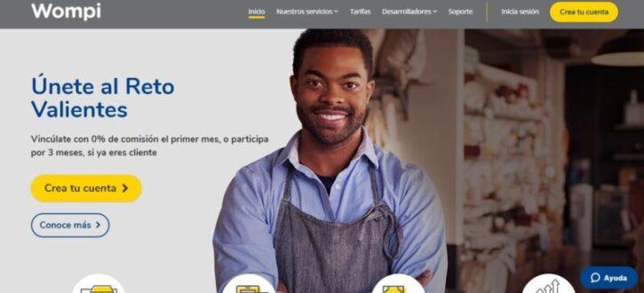 wompi pasarela de pago usada en tiendas online