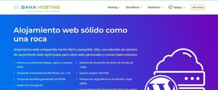 hosting banahosting y sus beneficios para tu web