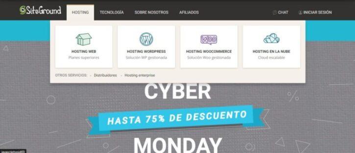 SiteGround hosting y sus beneficios para tu pagina web
