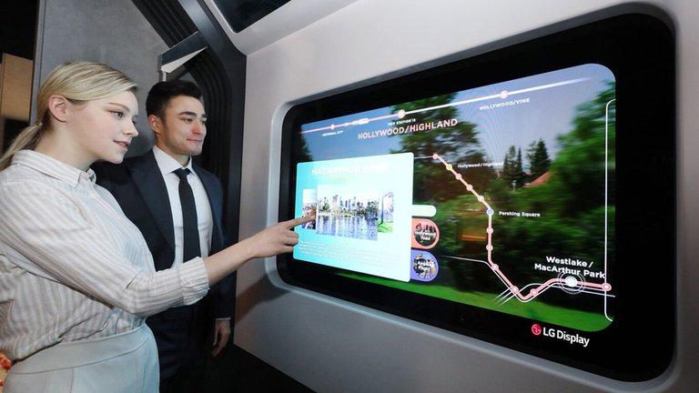 CES tecnología pantallas OLED