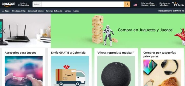 tienda virtual amazon