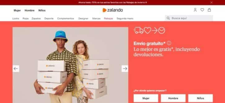 tienda virtual zalando