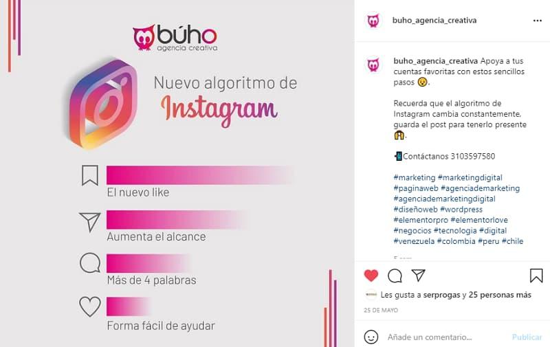 captions en instagram