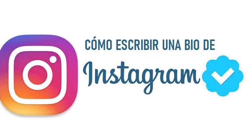 como escribir bio de instagram