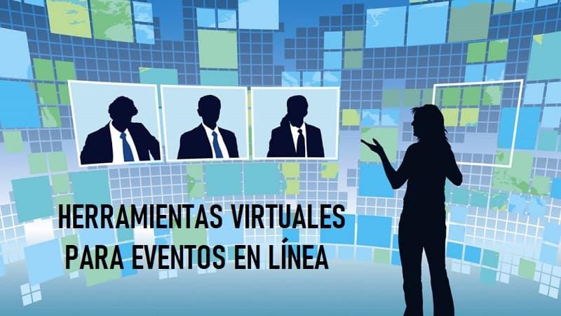 herramientas virtuales para eventos en línea